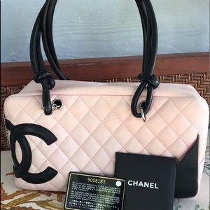 CHANEL Bags - CHANEL Cambon Line Quilted CC Logo Shoulder Bag